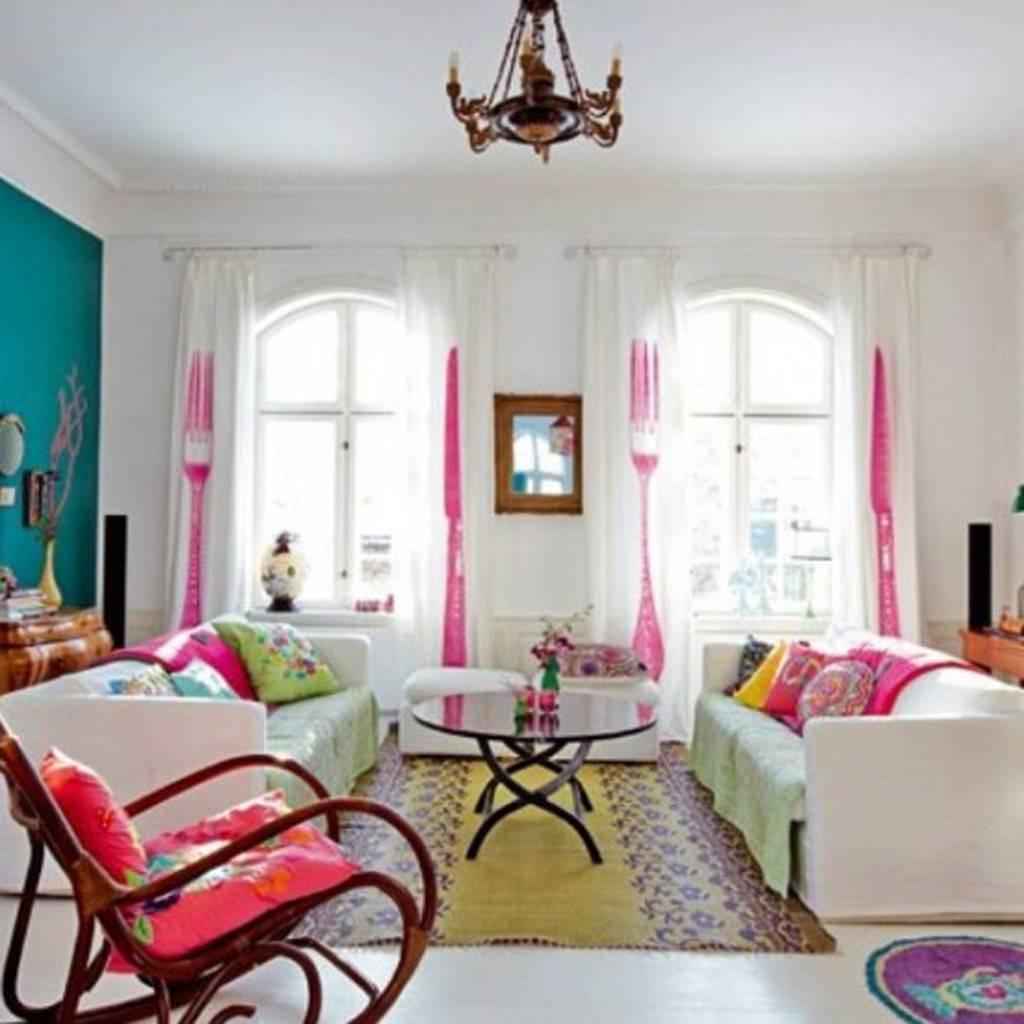 Renkli ev dekorasyonları, ev dekorasyon fikirleri