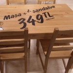 Yeni Ikea Yemek Masaları