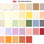 2014 Dyo Boya Renkleri Kataloğu Galeri