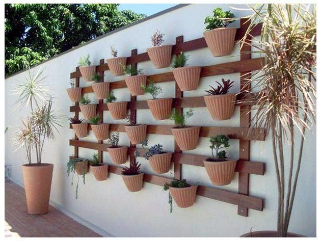 balkon duvar saksilari | Dekorstyle