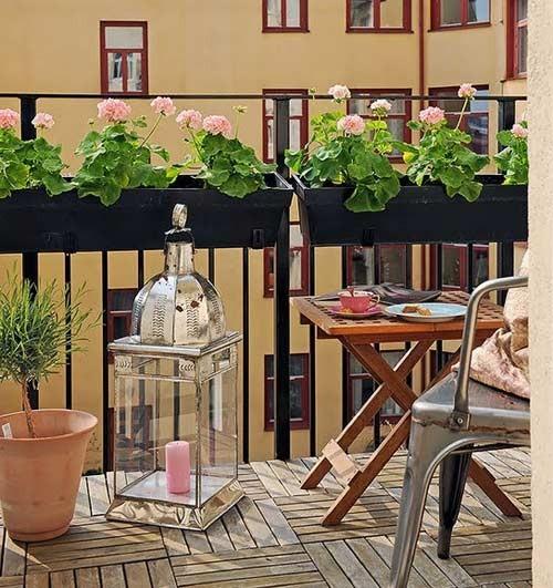 Dar Balkon Dekorasyonu | Yapı Dekorasyon 360