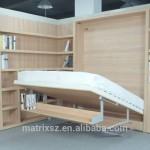 Duvar yatak mekanizması, katlanır duvar yatağı, duvara monte
