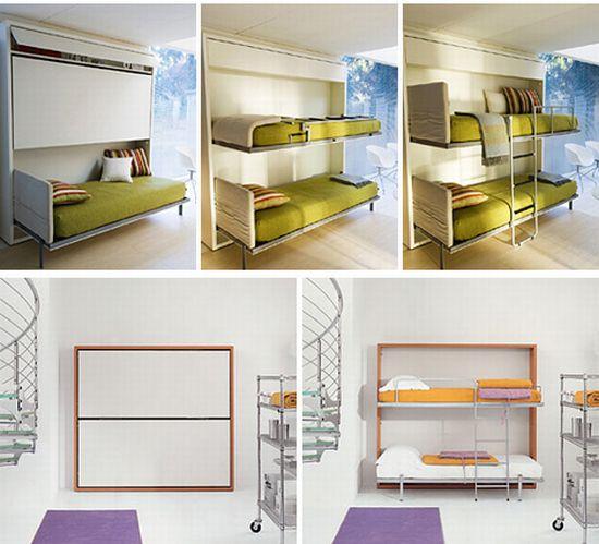 Duvara monte yatak modelleri