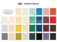 Dyo İç Cephe Renk Kartelası - 26 Nisan 2016 - DEKORCENNETİ.COM