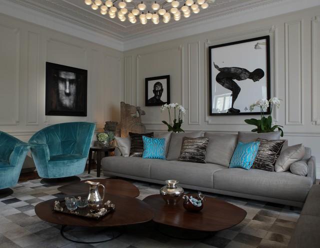 Gri Koltuklar ve Dekorasyon Fikirleri - Dekorasyon360