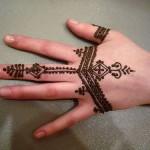 Hint Kınası ile Dövme Yapımı