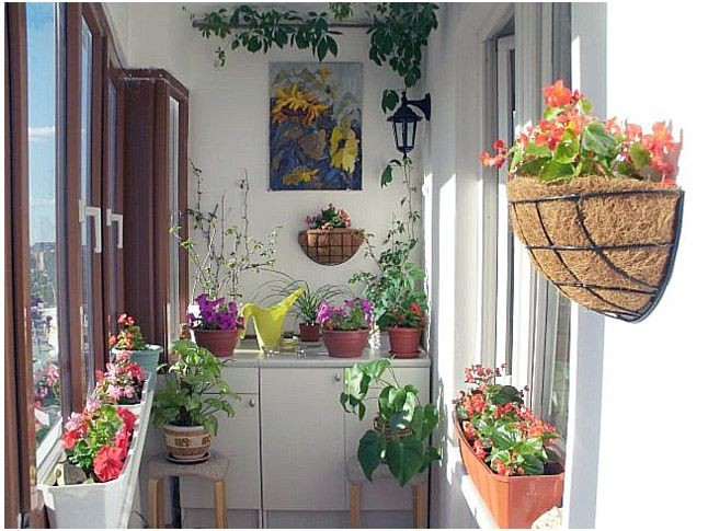 Kapalı Küçük Balkon Dekorasyonu (10) |