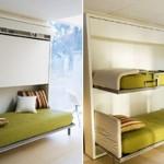 Küçük Odalar İçin Katlanabilir Yataklar