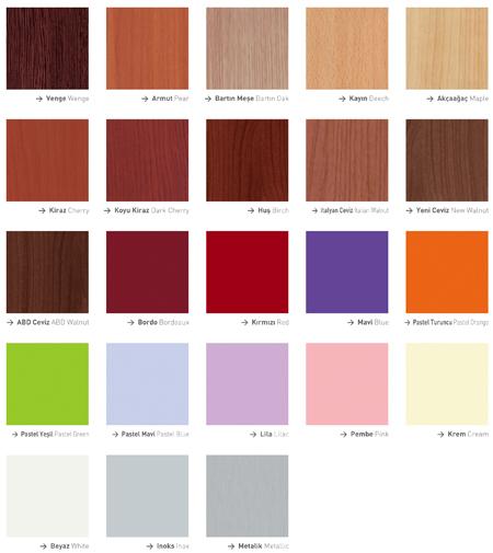 Marshall 2011 renk katalogu — Resimli Yemek Tarifleri