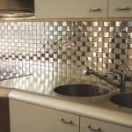 modern mutfak tezgah arası cam seramikler