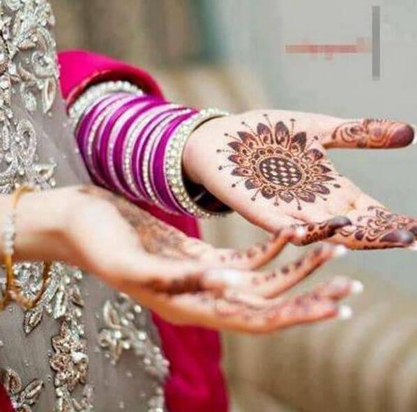 Muhteşem Hint Kınası Desenleri