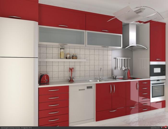 Mutfak Dolapları - Seçkin Mobilya