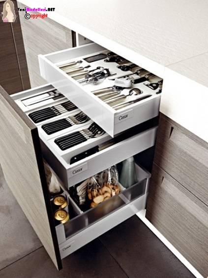 Mutfaklar İçin Pratik Depolama Önerileri | Yeni Modelleri