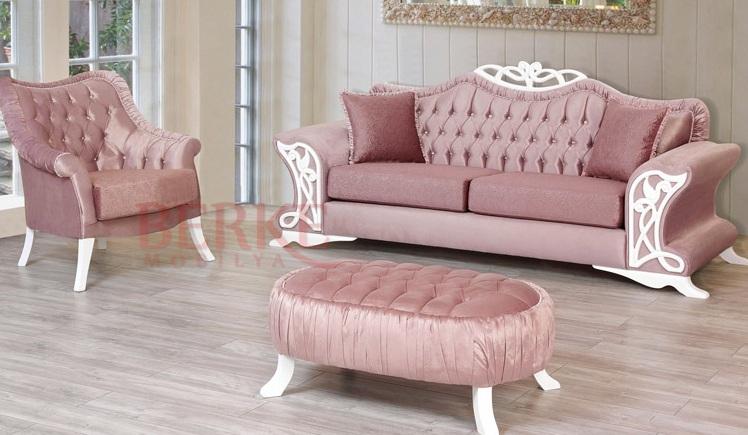 pudra pembesi avangart koltuk takımı modeli - Kadın Moda