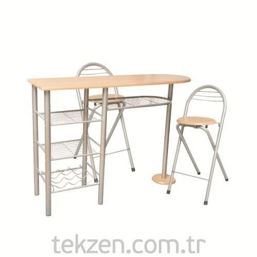 Tekzen Home Kahvaltı Masa Sandalye Seti Dr-9-396a dx7802 lk89 ...