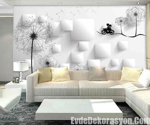 Kea duvar ka d modelleri leylara her ey burada - Papel pared salon ...