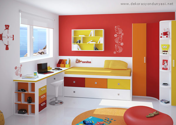 Çocuk Odası İçin Çalışma Masası Modelleri - Dekorasyon Dünyası