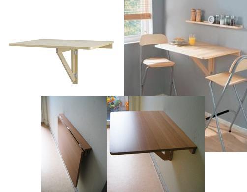 Duvara Monte Katlanır Mutfak Masası Modelleri | Dekorstili.com