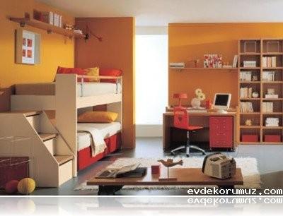 Ev Dekorumuz ~ Dar Çocuk Odaları İçin Çok Amaçlı Ranza ~ Ev ...