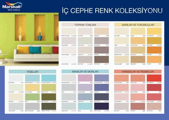Filli Boya Renk Kataloğu 2013 | Kolay Dekorasyon