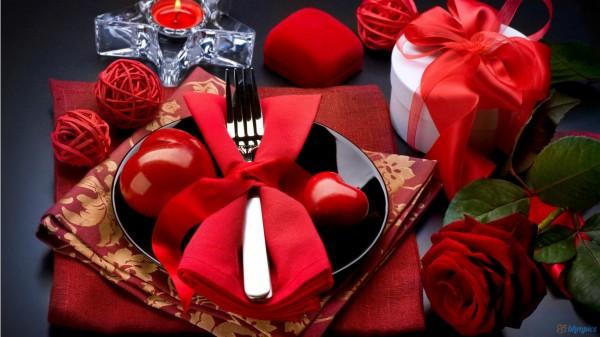 Sevgililer günü romantik masa dekorasyonları - Özel Günler ...