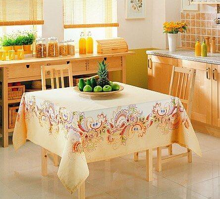 2015 Mutfak Masa Örtüsü Modelleri |Ev Dekorasyonu