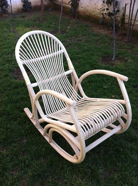Bambu Sallanan Sandalye | Dekorasyon Modelleri