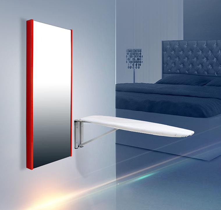 By Solvo | Dekoratif Boy Aynalı ütü Masası