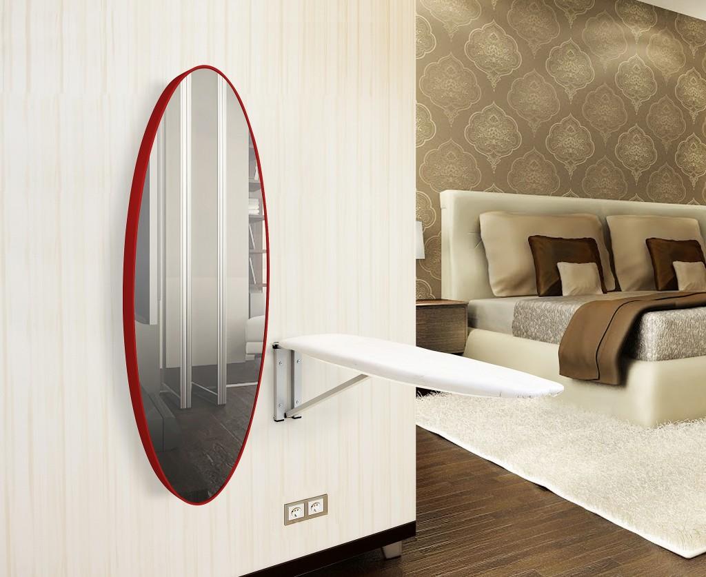 BySolvo Dekoratif Aynalı Ütü Masası | Evhayat