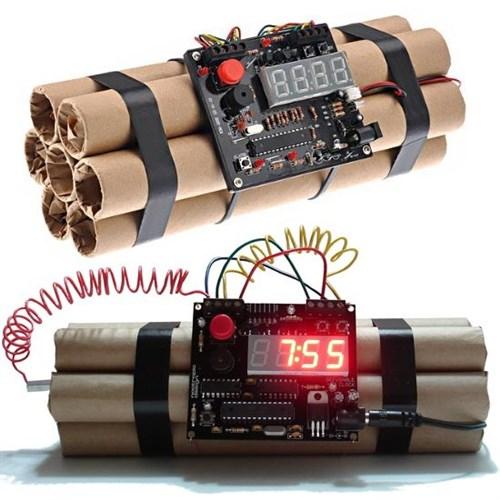 Defuse A Bomb Alarm Clock - Dinamit Çalar Saat | buldumbuldum ...