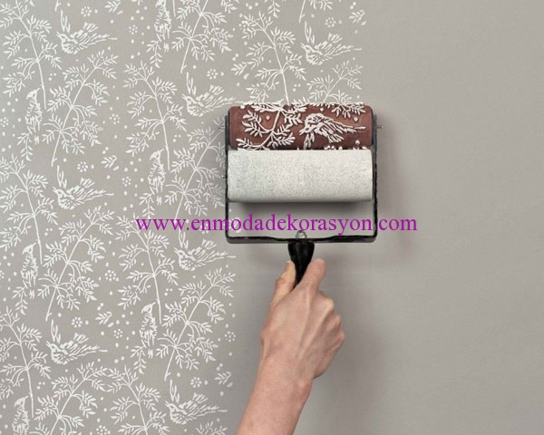 Desenli Duvar Boyaları | En Moda Dekorasyon
