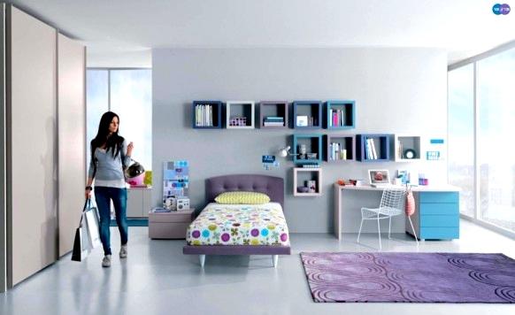 genç odası dekorasyon modelleri 2016
