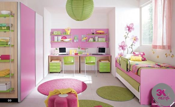 Kız Çocuk Odası Modelleri - Kadın Tadında