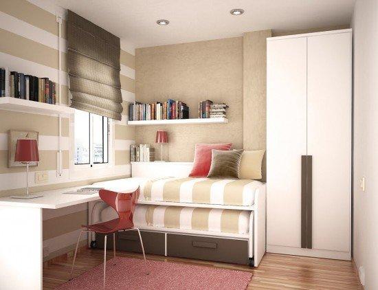 Küçük genç odaları için dekorasyon örnekleri | Galeri - Kadın ...