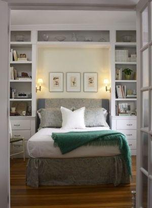 Küçük Yatak Odaları İçin Yaratıcı Fikirler