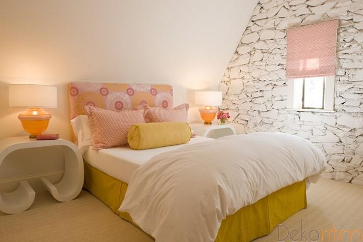 küçük yatak odası dekorasyon 4 - Ev Dekorasyon Örnekleri ve ...