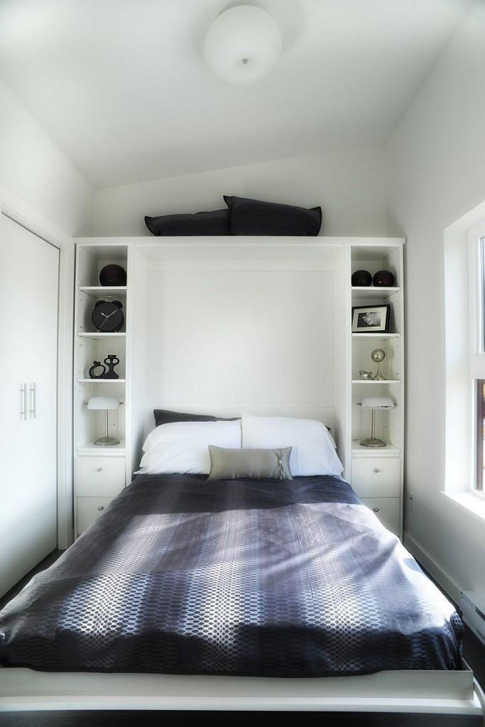 küçük yatak odası dekorasyonu | Sencemoda.com