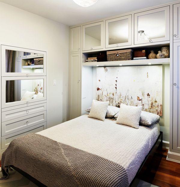 Küçük Yatak Odası Tasarımları - Ev Dekorasyon Örnekleri ve ...