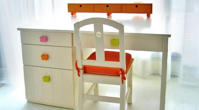 Renkli Yeni Trend Çocuk Çalışma Masası Modelleri   Dekorstili.com