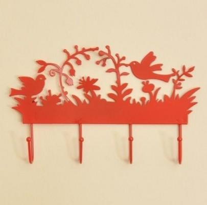 Turuncu dekoratif ilginç duvar askı örnekleri ·  