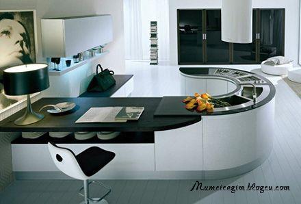 2012 Modern/Minimalist Mutfak Dolabı modelleri
