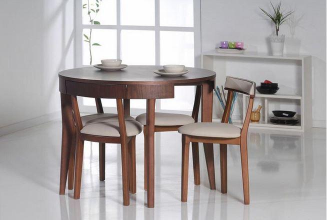 2016 Sezonu Yuvarlak Mutfak Masası Modelleri | Dekoryazar.com