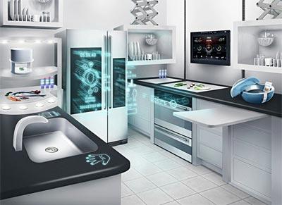 Gelecekteki Mutfak Etiketi | Dekorasyon Mobilya Modelleri