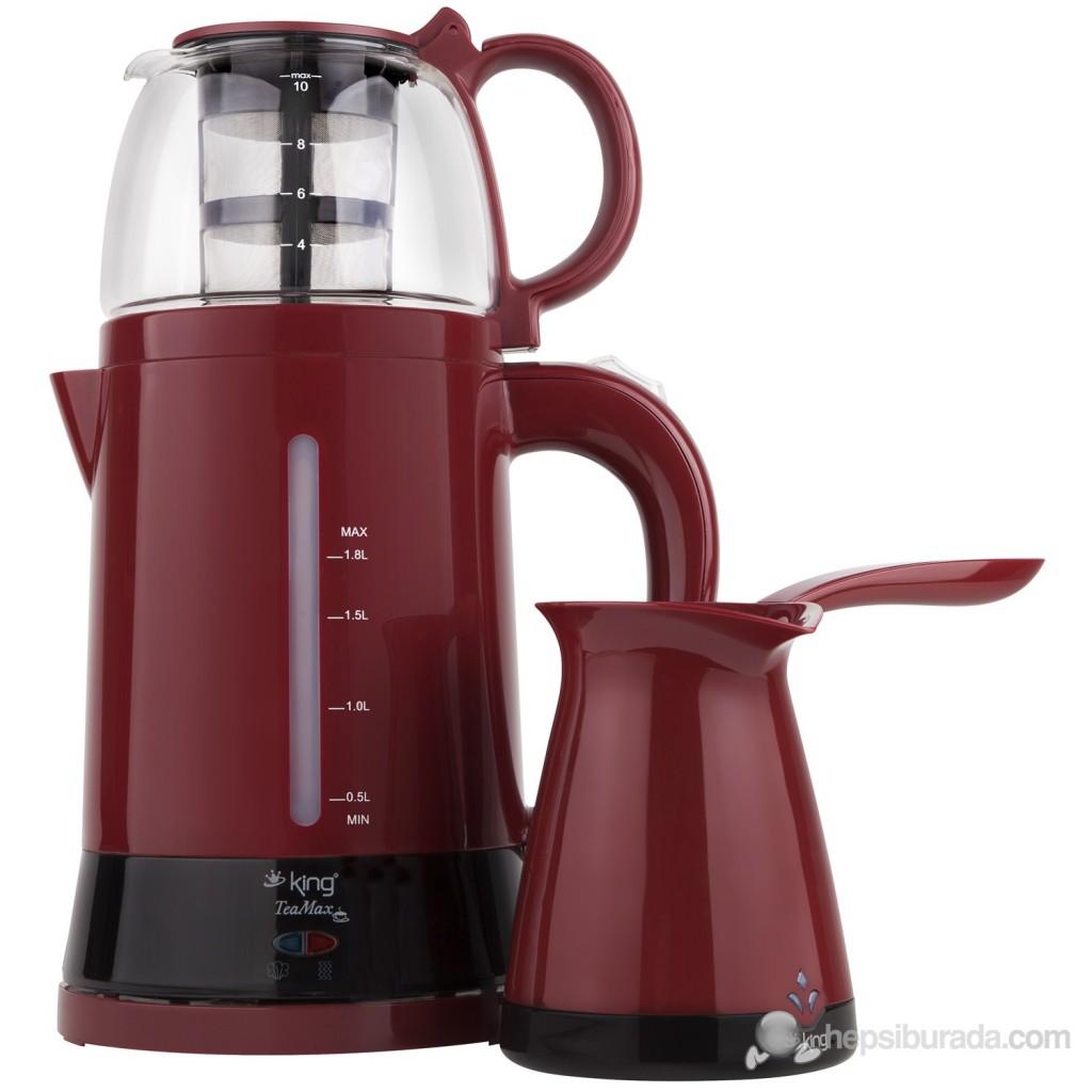 King K-8288 Duo Set Çay '- Kahve Makinesi Seti Fiyatı