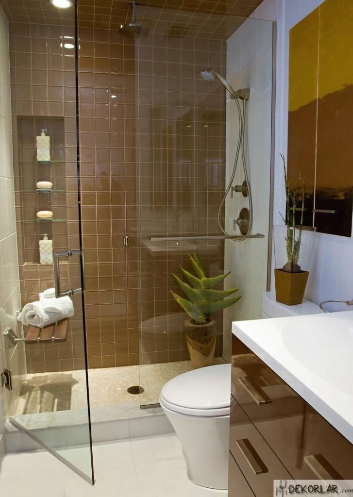 Küçük Banyo Dekorasyon Modelleri - 15 | Dekorlar.com