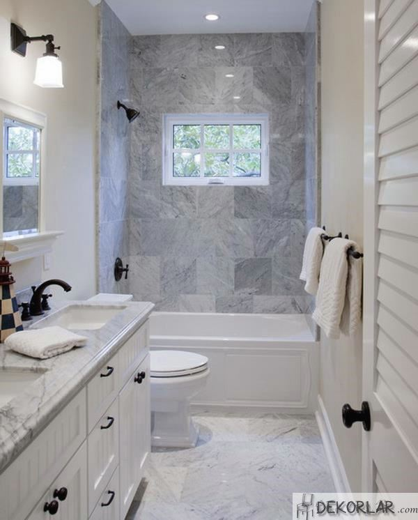 Küçük Banyo Dekorasyon Modelleri - 18 | Dekorlar.com