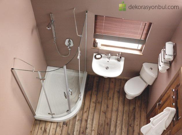 Küçük Banyo Dekorasyonu Çözümleri ve Örnekleri - Dekorasyon Bul
