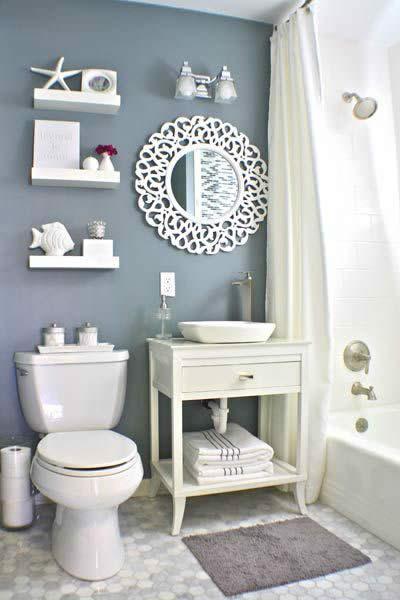 Küçük Ve Dar Banyolara Dekorasyon Önerileri | Dekorstyle