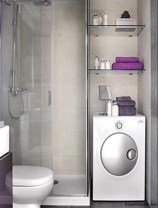 küçük-banyo-dekorasyon-önerileri 7 – Bayan XL Kadına dair her ...