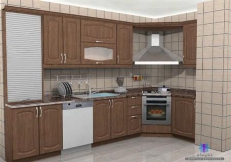 Membran Mutfak Dolapları - Ecem Mobilya
